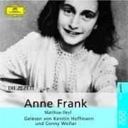 Anne Frank. CD. av Matthias Heyl. Uppläsare: Kerstin Hoffmann, Conny Wolter - anne-frank-cd