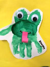 tree frog template frog crafts frog toddlers preschool daycare early education toddler
