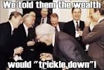 trickles