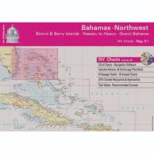 Nv Charts Region 9 1 Bahamas Northwest Bimini Nassau To Abaco Grand Bahama