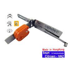 car locksmith tools. Citroen-VA2 2-in-1 Auto Pick And Decoder Car Locksmith Tools
