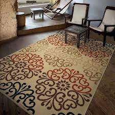 orian rugs vibrant ikat napa indoor outdoor area rug multicolor best rug images on the great