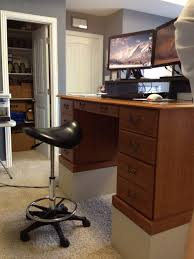 standing desk footstool.  Standing Stand Standing Desk Foot Stool Electric Rising Adjustable Height Workstation  Computer Table Up And Footstool