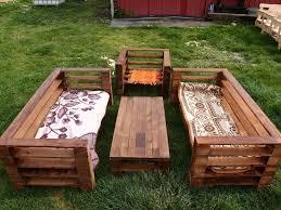 garden furniture from pallets. wood pallet garden furniture set from pallets