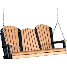 5 foot polywood porch swing poly outdoor nautical patio design ideas uk