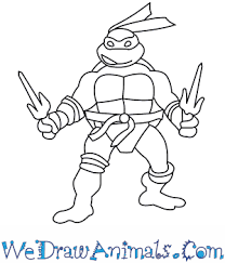 Small Picture How to Draw The Ninja Turtles