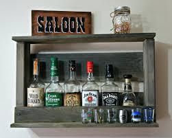 pallet whiskey rack. Wine Rack Liquor Cabinet Pallet Mountable Racks Bar: Full Size Whiskey S