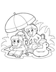 ⭐ free printable summer coloring book. Summer Coloring Pages Imom