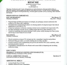 Pharmacy Technician Resume Examples Sample Pharmacist Resume Sample Inspiration Objective On Resume For Pharmacy Technician
