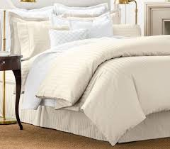 new sealed chaps damask stripe queen comforter set ivory bedroom bedding