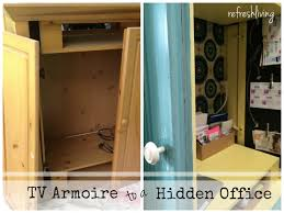 armoire office. armoire painted inside desk office