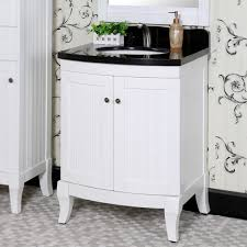single white bathroom vanities. Appealing White Bathroom Vanity With Black Top Country Style 27 Inch Granite Single Sink Vanities