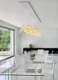 unique modern chandeliers for dining room orchids chandelier galilee lighting contemporary dining room