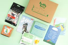 you can a one off buddybox for you or a friend for 21 50 there s the option to send a personalised note with the box at checkout too