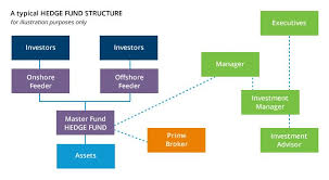 Master Feeder Structure Chart The Structure Of Hedge Funds Hedge Fund Investing Best