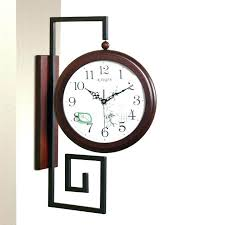 wooden wall clocks india wooden wall clocks large decorative clocks luxury wall clock double sided
