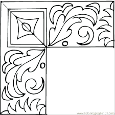 template c11 nice frame coloring page frames pages printable