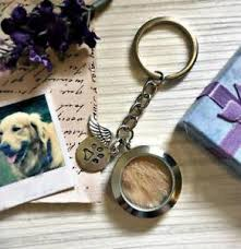 image is loading pet loss memorial jewelry memory locket keychain for