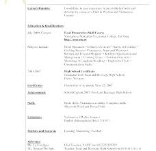 Work Experience For Resume Examples Of Resume Templates Job ...