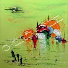 Tableau Peinture Art artiste-art-déco-hui vacances-parfum-pers ...