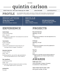 Resume Font Style And Size Resume Font Size Format 6 Best Resume