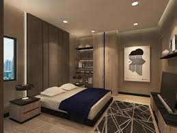 apartment master bedroom. the master bedroom of an apartment in sudirman, jakarta. designed by studio piu. .