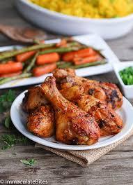 baked chicken leg recipes.  Chicken Bake Garlic Paprika Chicken Legs And Baked Leg Recipes N