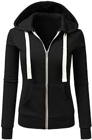 Auifor Women <b>Hooded</b> Coats <b>Chic</b> Casual Solid Colour <b>Long</b> ...
