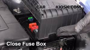 replace a fuse 2007 2015 volkswagen eos 2012 volkswagen eos 6 replace cover secure the cover and test component
