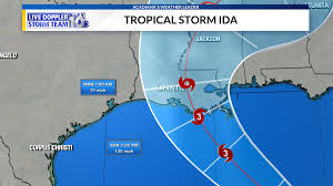 Gulf coast, prompting louisiana's governor to declare a state of emergency and forecasters to announce a hurricane watch for new orleans. Izanjf Jcooc8m