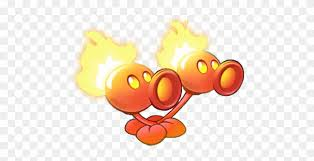 Graphic Transparent Image Twin Fire Png Plants Vs Zombies Fire