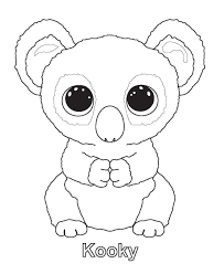Beanie Boo Coloring Pages Addie Beanie Boo Party Ty Beanie Boos