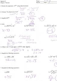 quadratics review worksheet answers briefencounters worksheet template samples