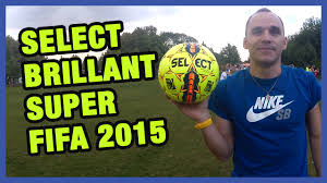 Обзор <b>Select</b> Brillant Super FIFA 2015! Review of <b>ball</b> - YouTube