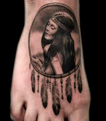 Dream Catcher Foot Tattoos 100 Most Popular Foot Tattoos and Meanings ⋆ TattooZZa 95