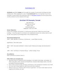 Resume Objective For Architect Oneswordnet