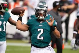 Jack driscoll jake elliott jalen hurts jalen reagor jalen mills jameson houston jason peters jason huntley jason kelce jason croom javon hargrave joe bachie joe ostman john hightower jordan. Jalen Hurts Might Be Making Carson Wentz S Seat Hot With Eagles