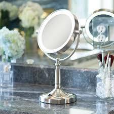 zadro mirrors. zadro cordless dual-sided led vanity mirror - 1x/5x mirrors v