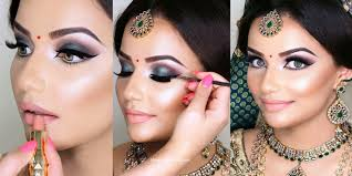 indian bridal wedding makeup step by step tutorial guide