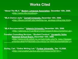 Mla Citation Pdf Site Http Owlenglishpurdueedu