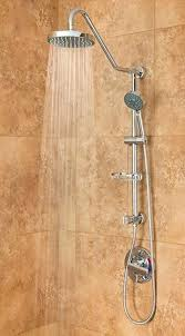 pulse iii shower system brushed nickel kauai rain ii