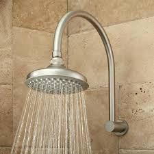 gorgeous brushed nickel rain shower head thermostatic shower system rainfall shower hand shower brushed nickel brushed