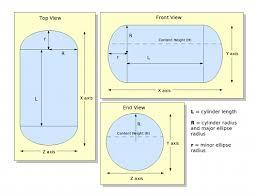 Fuel Tank Dimensions Chart Tank Measurements Chart Underground Oil Tank Measurement Chart