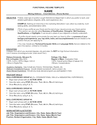 What Is A Functional Resume Sample Chrono Functional Resume Samples Fieldstation Aceeducation 20