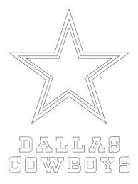 Dallas Cowboys Logo Coloring Page Crafts Dallas Cowboys Logo