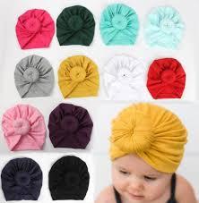 <b>2019</b> Cute Infant Toddler Unisex Ball Knot Indian <b>Turban</b> Kids ...