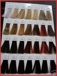 L Oreal Inoa Colour Chart 17 Systematic Loreal Inoa Supreme Color Chart