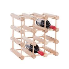 Small wine racks Amazon The Container Store Jk Adams Hardwood 12bottle Wine Rack The Container Store