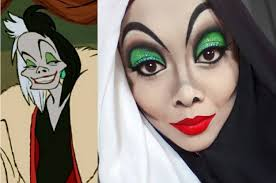 this woman uses her hijab and makeup to transform into disney characters