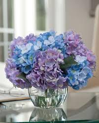 easily decorate with hydrangea silk flower centerpiece at petals rh petals com blue hydrangea centerpieces diy